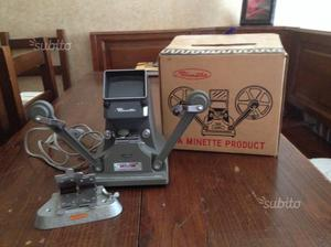 Moviola minnette 8mm giuntatrice