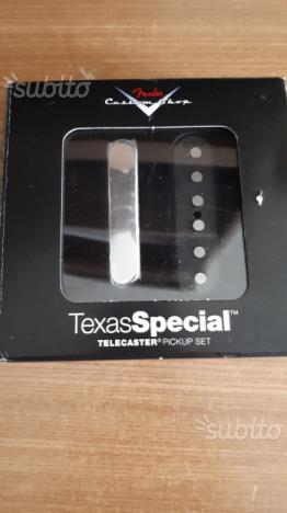 Fender Texas Special Pick Up Custom Shop