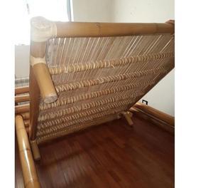 Letto matrimoniale in bambu' originale