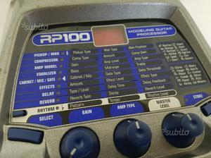 Multieffetto per chitarra elettrica digitech rp100