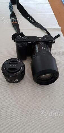 Sony CX con 2 obiettivi originali