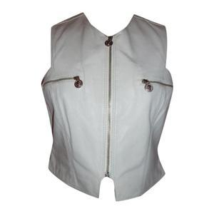 leather jacket versus gianni versace