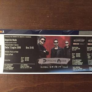 1 biglietto concerto Depeche Mode Barolo