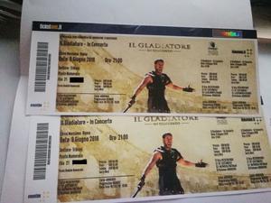 Il Gladiatore - In Concerto  Roma
