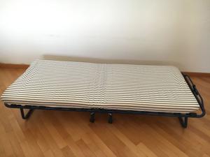 Letto pieghevole brandina con rotelle sandvika posot class - Brandina letto ...
