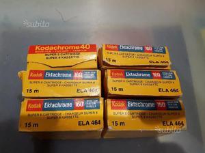 Kodak Ektachrome 160 TIPO A SUPER 8 E KODACHROME