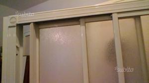 Box doccia in alluminio 1 parete Duka
