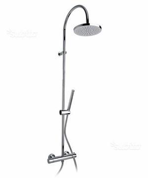Colonna duplex doccia, doccetta e soffione, Paini