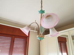 Lampadario campane in vetro di murano posot class