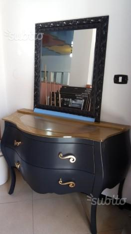 Lavabo con Mobile bagno con specchio