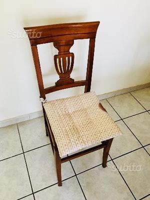 Tavolo classico arte povera in legno allungabile