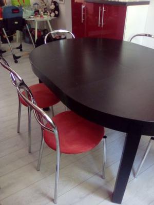tavolo da pranzo e 6 sedie