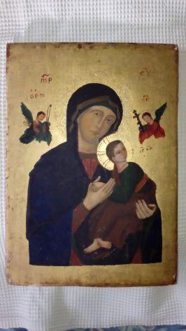 Icona della Madonna del soccorso Perpetuo de 900