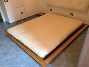Letto tatami matrimoniale stile giapponese posot class - Letto giapponese tatami ...