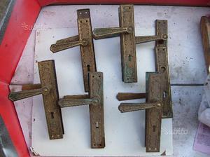 Maniglie porte in ottone posot class - Maniglie porte ottone ...