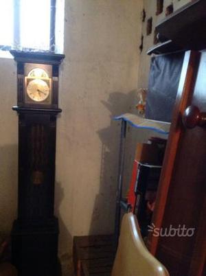 Orologio pendolo a colonna tempus fugit