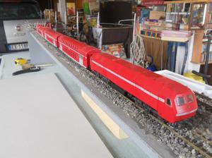 Trenino elettrico db lima completo