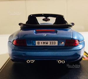 BMW M Roadster - Burago scala 1/24