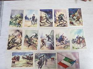 Lotto di cartoline 18 cartoline della finanza