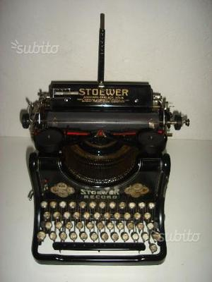 Macchina da scrivere da tavolo stoewer record