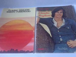 Spartiti RCA - Claudio Baglioni