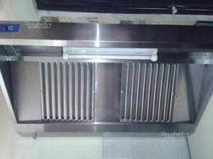 Cappa in acciaio inox posot class for Cappa acciaio