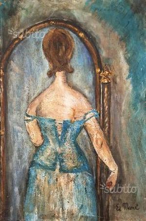 Edouard Manet dipinto copia olio su tela