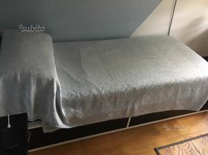 Letto singolo contenitore ikea odda con rete posot class - Rete letto singolo ikea ...
