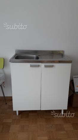 Cucina mobile sottolavello lavandino ceramica posot class - Mobile per lavandino cucina ...