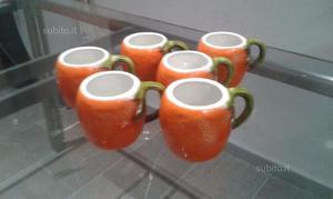 Tazze a forma di arancia