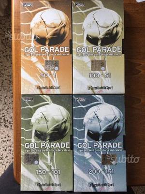 Gol parade 4 VHS Gazzetta dello Sport