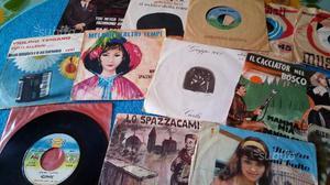 Lotto di 52 dischi vinile 45 giri anni
