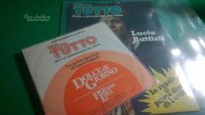 Lucio Battisti inserto Tutto  disco 45 giri