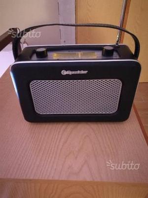Radio roadstar vintage pelle nuova