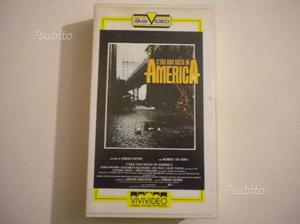 "VHS ""C'era una volta in America"" di Sergio Leone"