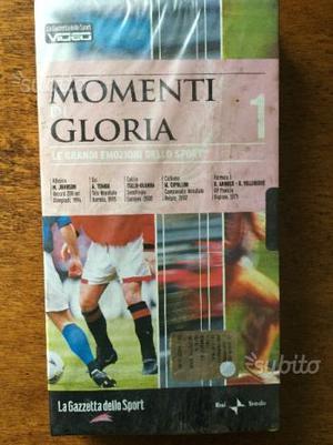 VHS Momenti di Gloria Gazzetta dello Sport N.1