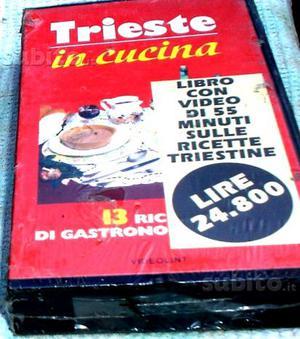 """Video cassetta da 55 minuti """"Trieste in cucina"""","""
