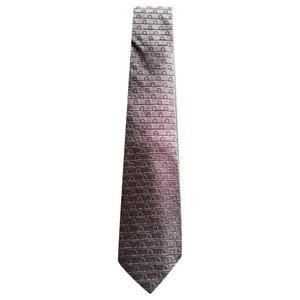 cravatta ferragamo in seta nuova con scatola