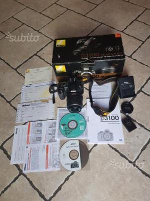 Kit Nikon D + zoom AFS DX  f  G VR
