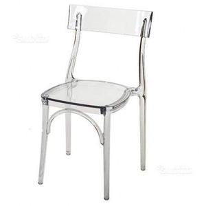 Sedie design trasparenti viola policarbonato posot class for Colico design sedie