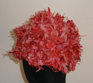 Cappello con fiori anni '50