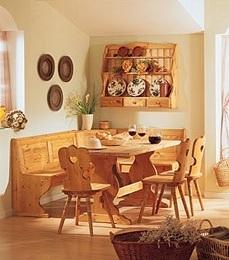 Mobili in legno Prezzo Fabbrica: Soggiorno completo color