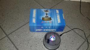 LAMPADA TURNTABLE ROTANTE 4 LED LIGHT STAND PER LUCE