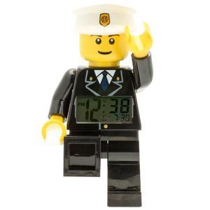 LEGO CITY Orologio Sveglia Poliziotto in Plastica
