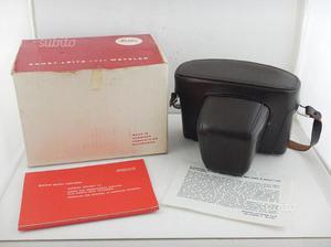 Leica Leicaflex BORSA con Scatola Originale