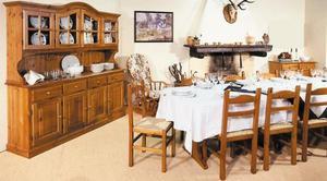 Mobili in legno:Soggiorno rustico 037 Nuovo prezzo di