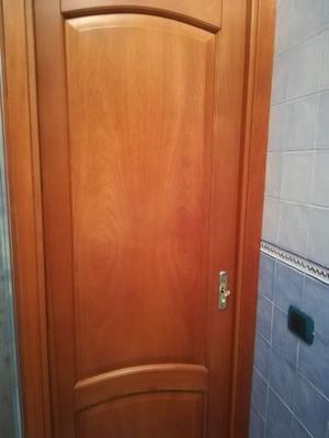 Doppia porta scrigno vetro e legno massello posot class - Porta in legno massello ...