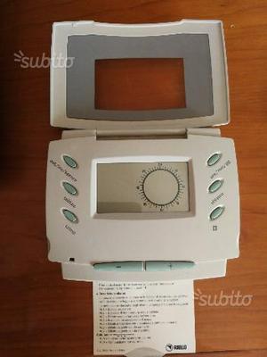 Cronotermostato vaillant vrt pza termostato posot class for Bpt termostato istruzioni