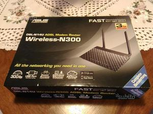 Modem router Asus DSL N14U imballato