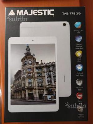 Tablet Majestic Tab 778 rotto